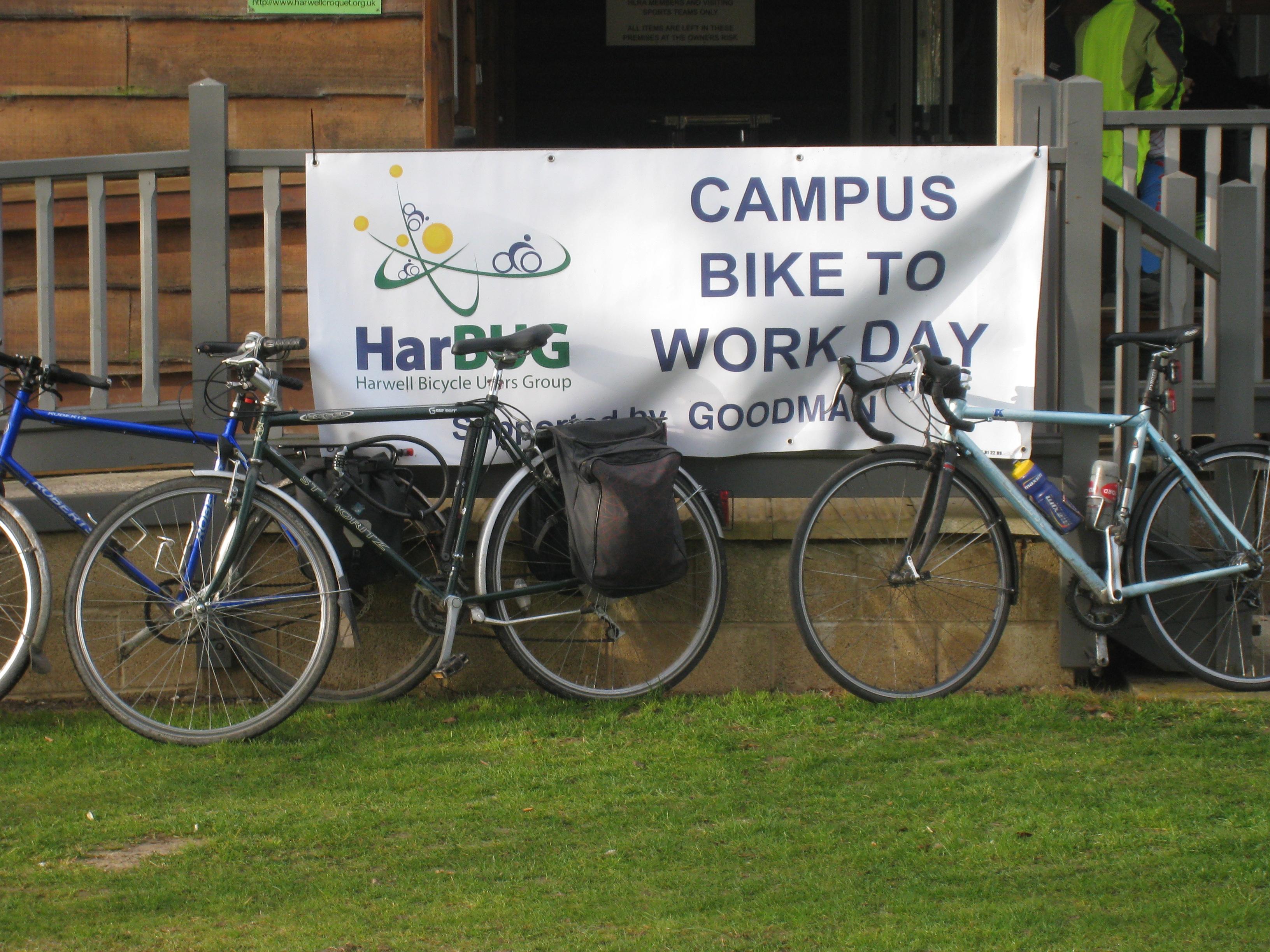 April Bike to Work Day