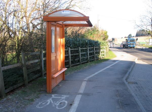 Wantage Crap Cycle Lane